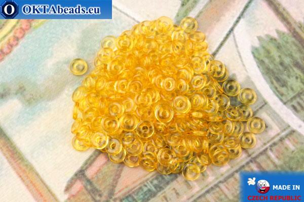 O-Ring Beads topaz (10060) 1x3,8mm, 5g MK0461