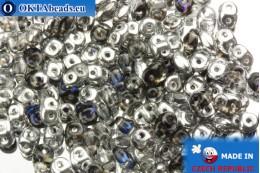 Супердуо кристалл фиолетовый серебро (H00030) 2,5x5мм, 10гр SD011
