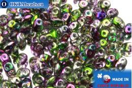 Супердуо кристалл радужный (95000CR) 2,5x5мм, 10гр SD009