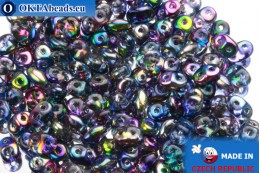 Супердуо кристалл радужный (95100CR) 2,5x5мм, 10гр SD003