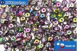 Супердуо кристалл радужный (95500CR) 2,5x5мм, 10гр SD082