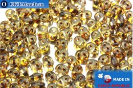 Супердуо кристалл травертин (T00030) 2,5x5мм, 10гр SD038