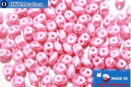 Супердуо розовый жемчужный (25008AL) 2,5x5мм, 10гр SD023