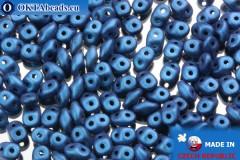 Superduo blue metallic matte (79031MJT) 2,5x5mm, 10g