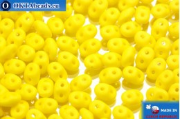 Супердуо желтый матовый (83120/84110) 2,5x5мм, 10гр SD112