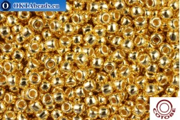 COTOBE Beads 24kt Gold Plated (1001) 11/0, 10гр CJR-11-01001