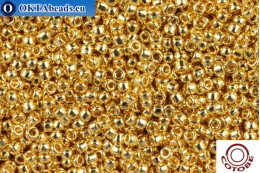 COTOBE Beads 24kt Gold Plated (1001) 15/0, 5гр CJR-15-01001