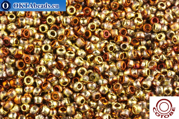 COTOBE Beads Ancent Gold and Copper (J096) 8/0 CTBJ096
