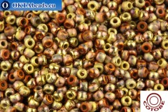 COTOBE Beads Ancent Gold and Copper Mat (J093) 11/0 CTBJ093