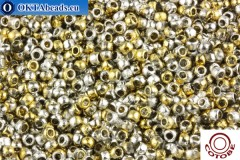 COTOBE Beads Ancent Gold and Silver (J095) 8/0 CTBJ095