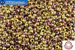 COTOBE Beads Ancent Gold and Sunset (J088) 8/0 CTBJ088