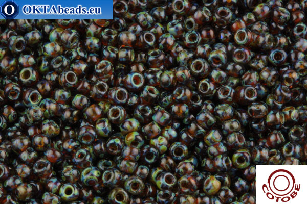 COTOBE Beads Antique Dark Topaz (J072) 11/0