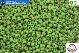 COTOBE Beads Antique Green Matte (J029) 8/0 CTBJ029