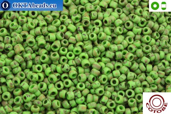 COTOBE Beads Antique Green Matte (J029) 8/0