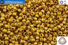 COTOBE Beads Antique Yellow Jaspers (J039) 11/0