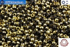 COTOBE Beads Black and Gold (J001) 11/0
