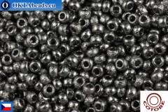 COTOBE Beads CZ Asphalt Etched (04003) 11/0, 10gr