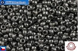 COTOBE Beads CZ Asphalt Etched (04003) 11/0, 10gr CCR-11-04003