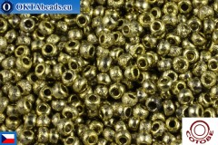 COTOBE Beads CZ Gold Etched (04006) 11/0, 10gr
