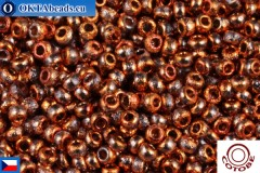 COTOBE Beads CZ Red Copper Etched (04012) 11/0, 10gr