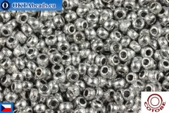 COTOBE Beads CZ Silver Etched (04013) 11/0, 10gr