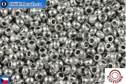 COTOBE Beads CZ Silver Etched (04013) 11/0, 10gr CCR-11-04013