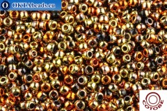 COTOBE Beads Gold and Copper (J077) 11/0