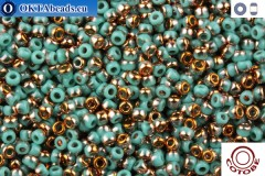 COTOBE Beads Green Turquoise and Sunrise (J042) 11/0