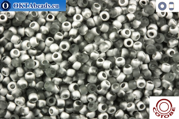 COTOBE Beads Grey and Silver Mat (J052) 11/0