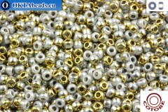 COTOBE Beads Grey Mist and Gold (J011) 11/0