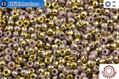COTOBE Beads Lavender and Gold (J015) 11/0