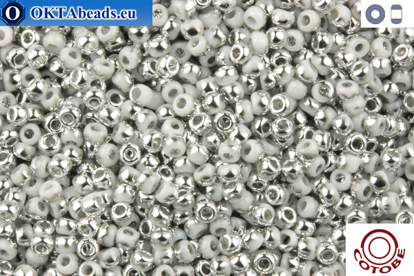 COTOBE Beads Mist and Silver (J058) 11/0 CTBJ058