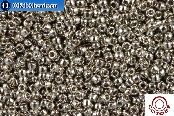 COTOBE Beads Nickel Plated (1002) 15/0, 5gr CJR-15-01002