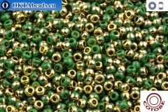 COTOBE Beads Summer Leaves and Gold (J021) 11/0