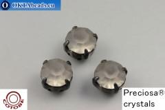 Našívací šaton Preciosa v kotlíku + COTOBE pokov Black Diamond Matt - Black ss39/8,4mm, 1ks