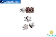 Kypri magnetické zapínání starostříbro pro SuperDuo 1ks