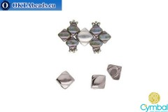 Laouti magnetic clasp antique silver plate for Silky 1pc