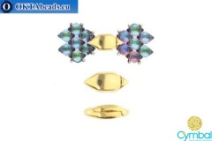 Ralaki magnetic clasp 24kt gold plate for GemDuo 1pc CYM-007
