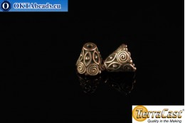 TierraCast Cones bronze (5641-18) 9x10mm, 2pc TK-0002