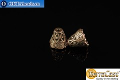 TierraCast Cones bronze (5641-18) 9x10mm, 2pc