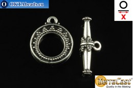 TierraCast Toggle silver (6088-12) X=22mm, 16mm TK-0008