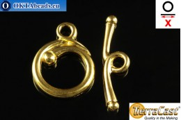 TierraCast Toggle gold (6208-25) X=26mm, 17mm TK-0009