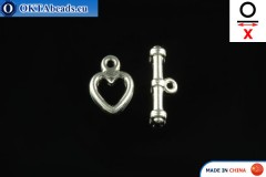 Toggle silver X=15mm, 8mm FCH-0003