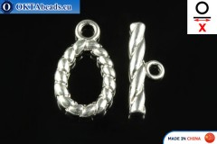 Toggle silver X=22mm, 14mm FCH-0005
