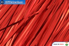 Broad plate red 1mm, 60cm*10pc