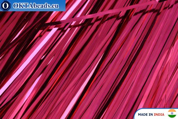Бить розовая 1мм, 60см*10шт W0017