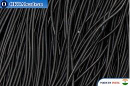 Канитель мягкая черная 1мм, 5гр W0067