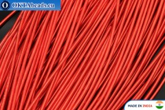 Канитель мягкая красная 1мм, 5гр W0011