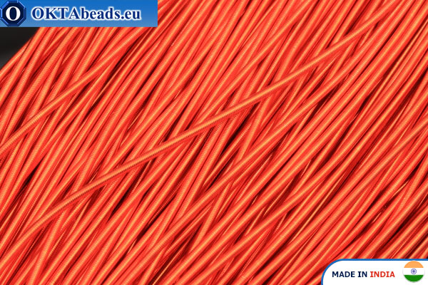 Канитель мягкая оранжевая 1мм, 5гр W0070