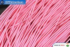 Francouzské drát hladký měkký růžový 1mm, 5gr